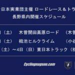 〔告知〕JBCF(全日本実業団)が2019年の長野県内開催ロード&トラックレース大会の暫定日程を発表