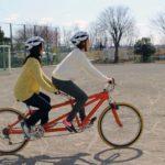 〔特別寄稿〕乗ってみませんか?タンデム自転車!
