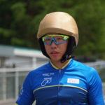 〔ニュース〕競輪学校史上16人目のゴールデンキャップ獲得!菊池岳仁(岡谷南出)が美鈴湖でエキシビジョン走行。